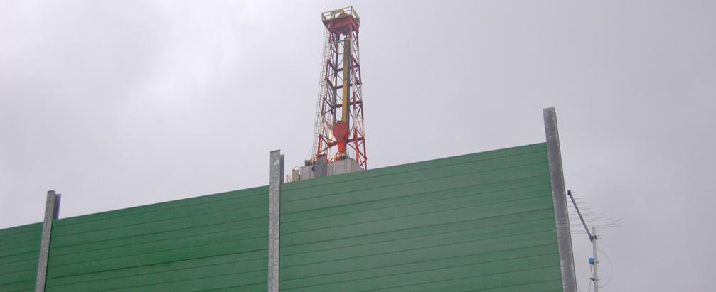 Impatto Paesaggistico pozzo petrolifero