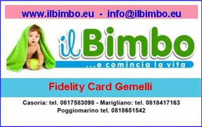 Fidelity Card Gemelli