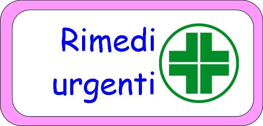 Rimedi urgenti