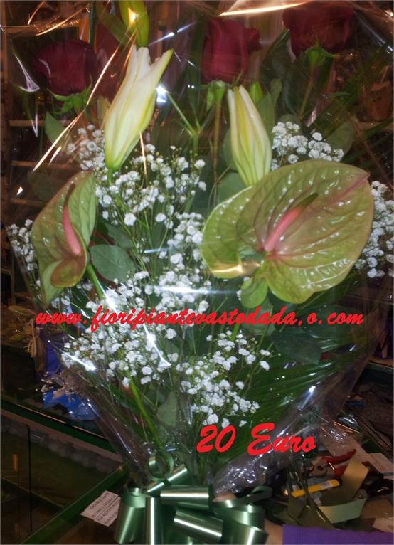 Fascio di fiori funebre