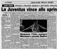 La Stampa 03.07.1983 Mundialito 83