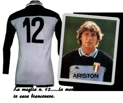 La maglia numero 12 di Luciano Bodini