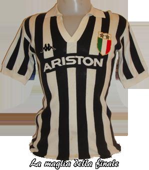 Maglia Juventus Finale Coppa Italia 1982/83