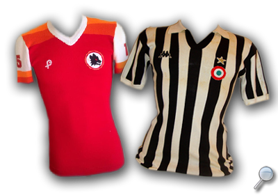 Maglie Juventus Roma 1979/80