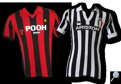 Maglia Juventus 1981/82 vs Milan