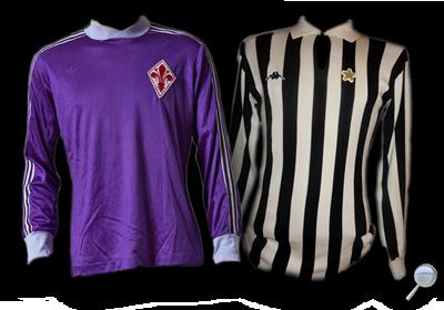 Maglie Fiorentina Juventus 1980/81