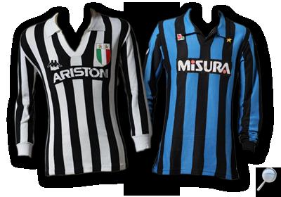 Maglie Juventus Inter 1984/85