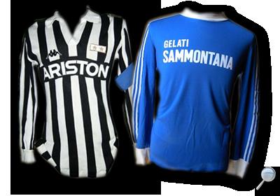 Maglie Juventus Empoli 1987/88