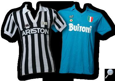 Maglie Juventus Napoli 1987/88