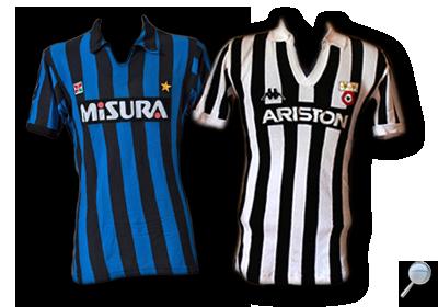 Maglie Inter Juventus 1983/84