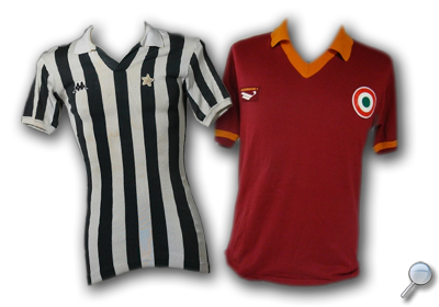 Maglie Juventus Roma 1980/81