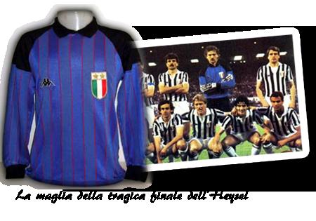 Maglia Stefano Tacconi 1984/85 Finale Coppa Campioni
