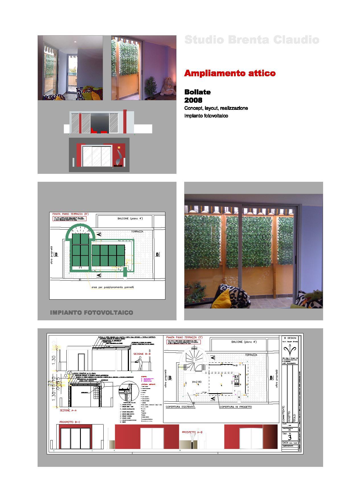 ristrutturazione attico arredamento design