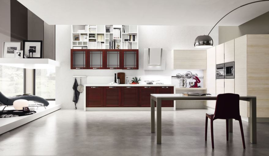 Cucine moderne bicolore with cucine moderne bicolore - Cucine bicolore moderne ...