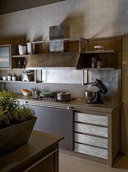 Cucine industrial chic l 39 ottocento tetesi arredamenti - Cucine stile industrial chic ...