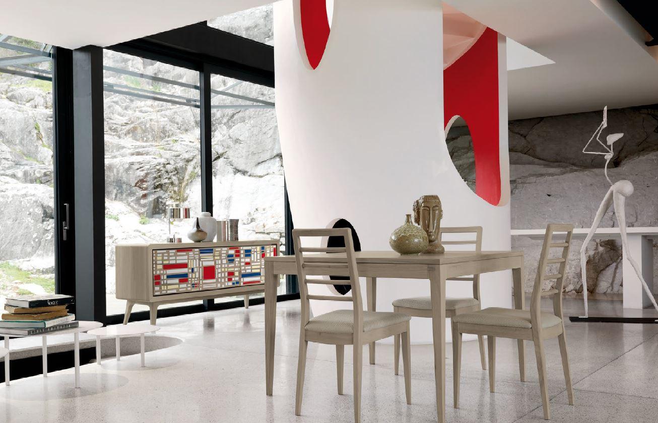 Madia e credenza in stile moderno classico chic vintage for Arredamenti san michele