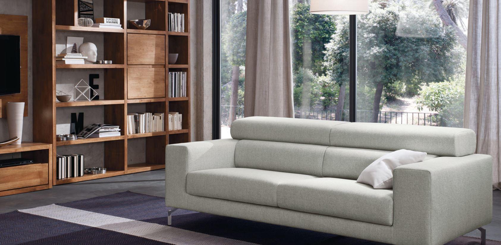 Centro divani in stile moderno in tessuto pelle ecopelle for Arredamenti francavilla fontana