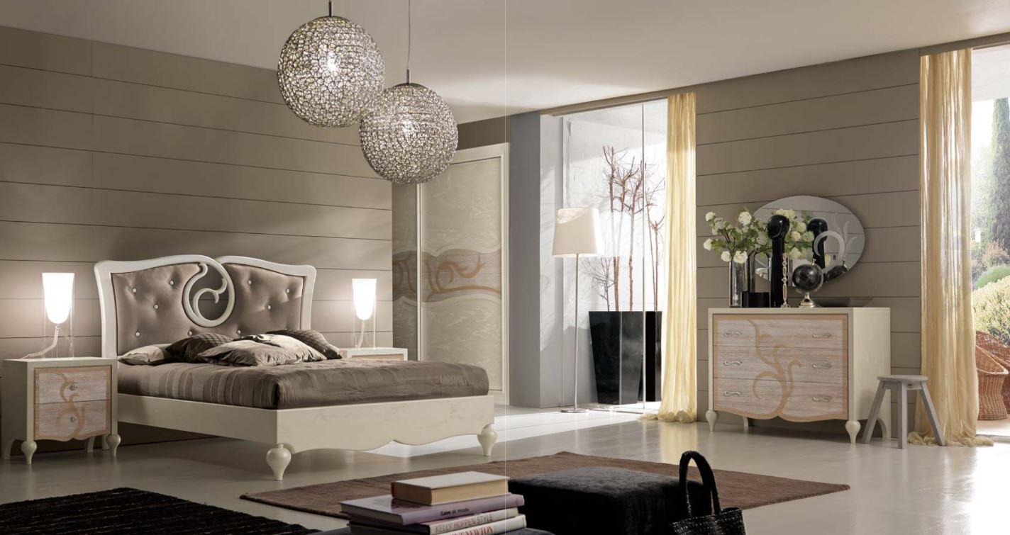 Zona notte in stile vintage for Camere da letto stile contemporaneo