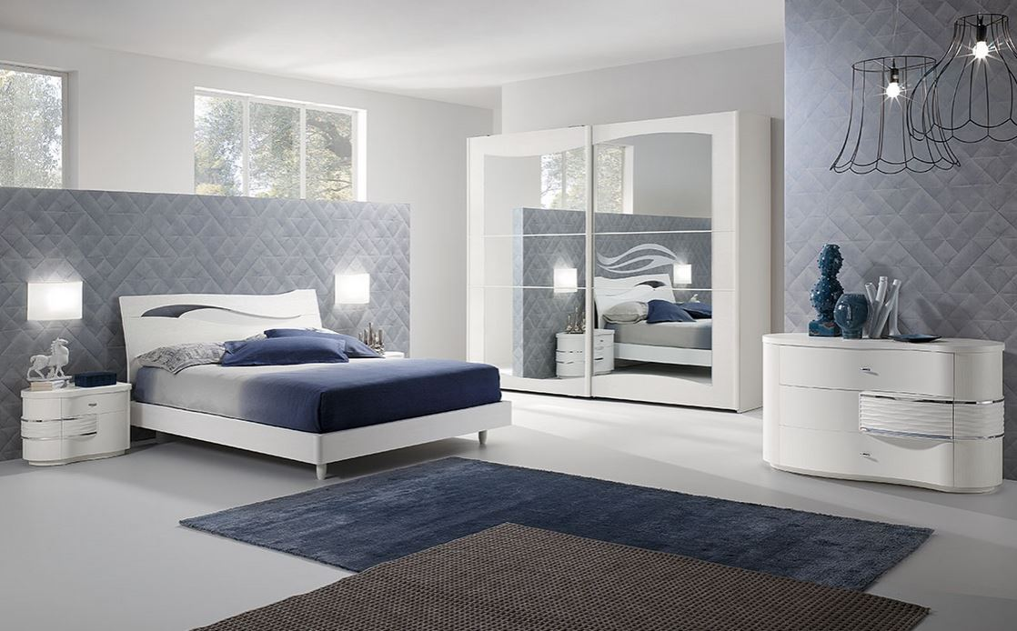 Zona notte in stile moderno for Cecchini arredamenti