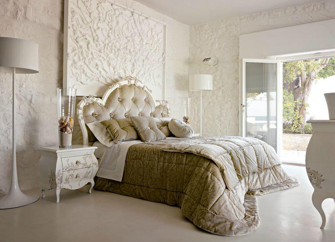 Camera da letto classica su misura tetesi arredamenti for Volpi arredamenti