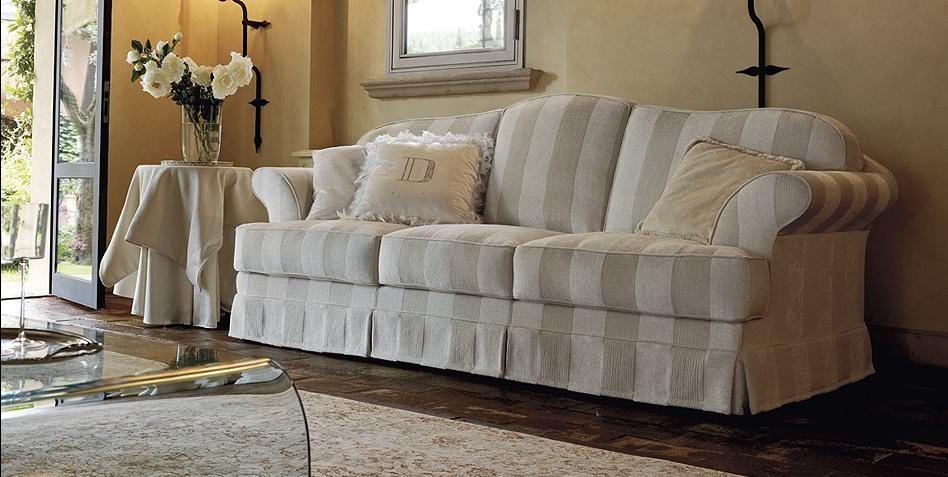 Tessuti per divani provenzali idee per il design della casa - Divano letto stile country ...