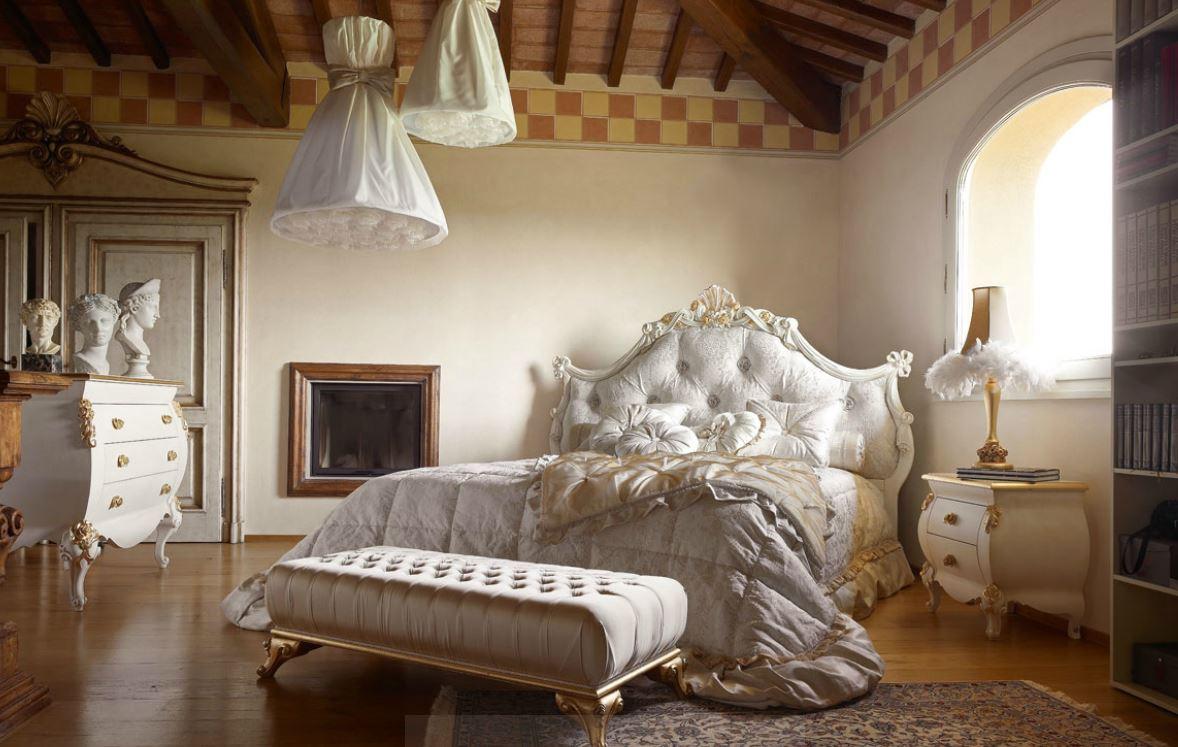 Camera da letto classica su misura tetesi arredamenti for Camera da letto chic