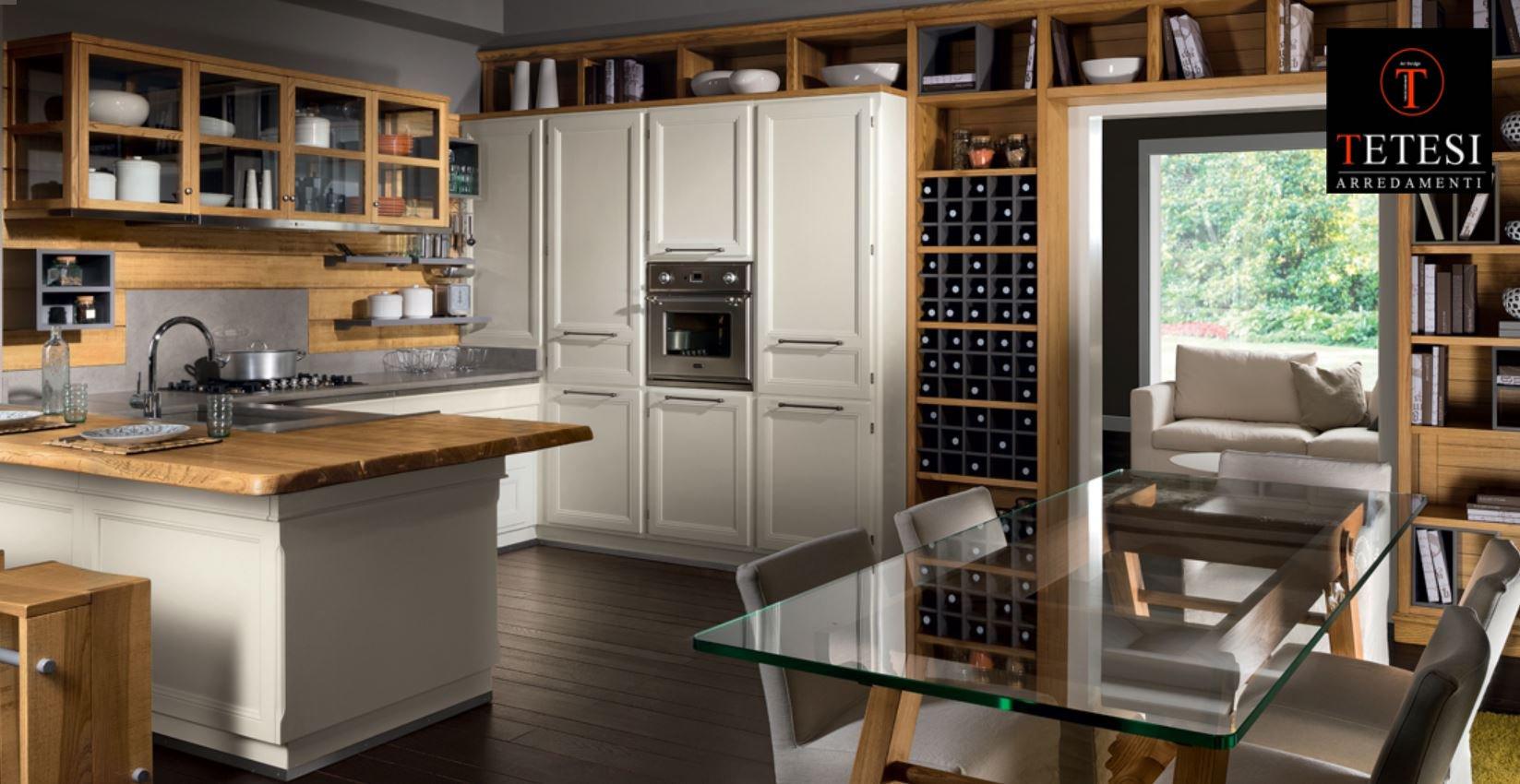 Tetesi arredamenti art design centro cucine l 39 ottocento stosa cesar arrex miton centro sistemi - Mobili stile contemporaneo moderno ...
