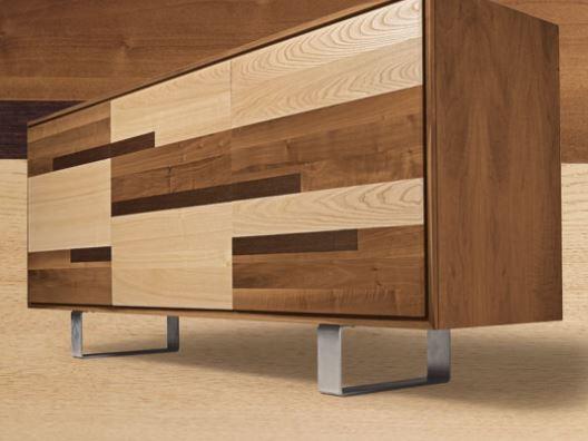 Madia e credenza in stile moderno classico chic vintage shabby legno - Contromobile classico ...