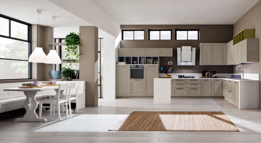 Cucine in stile moderno su misura tetesi arredamenti for Arredamenti san michele