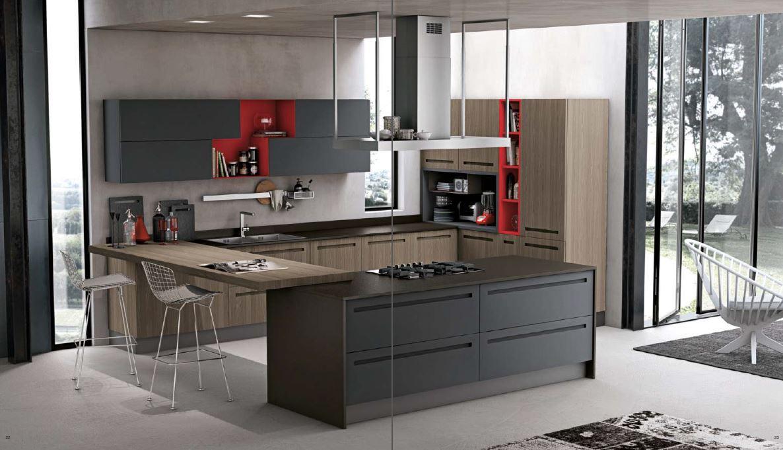 Cucine Moderne ARREX Miton, Cucine moderne Stosa, Cucine Moderne ...