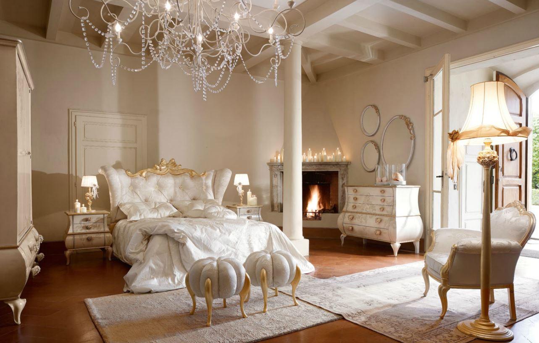 Camera da letto classica su misura tetesi arredamenti - Camere da letto shabby moderno ...