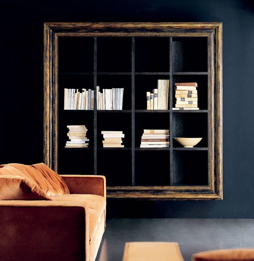 Zona giorno in stile moderno living pareti attrezzate for Ego arredamenti