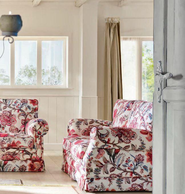 Salotto stile country idee per il design della casa - Tappeti stile country ...