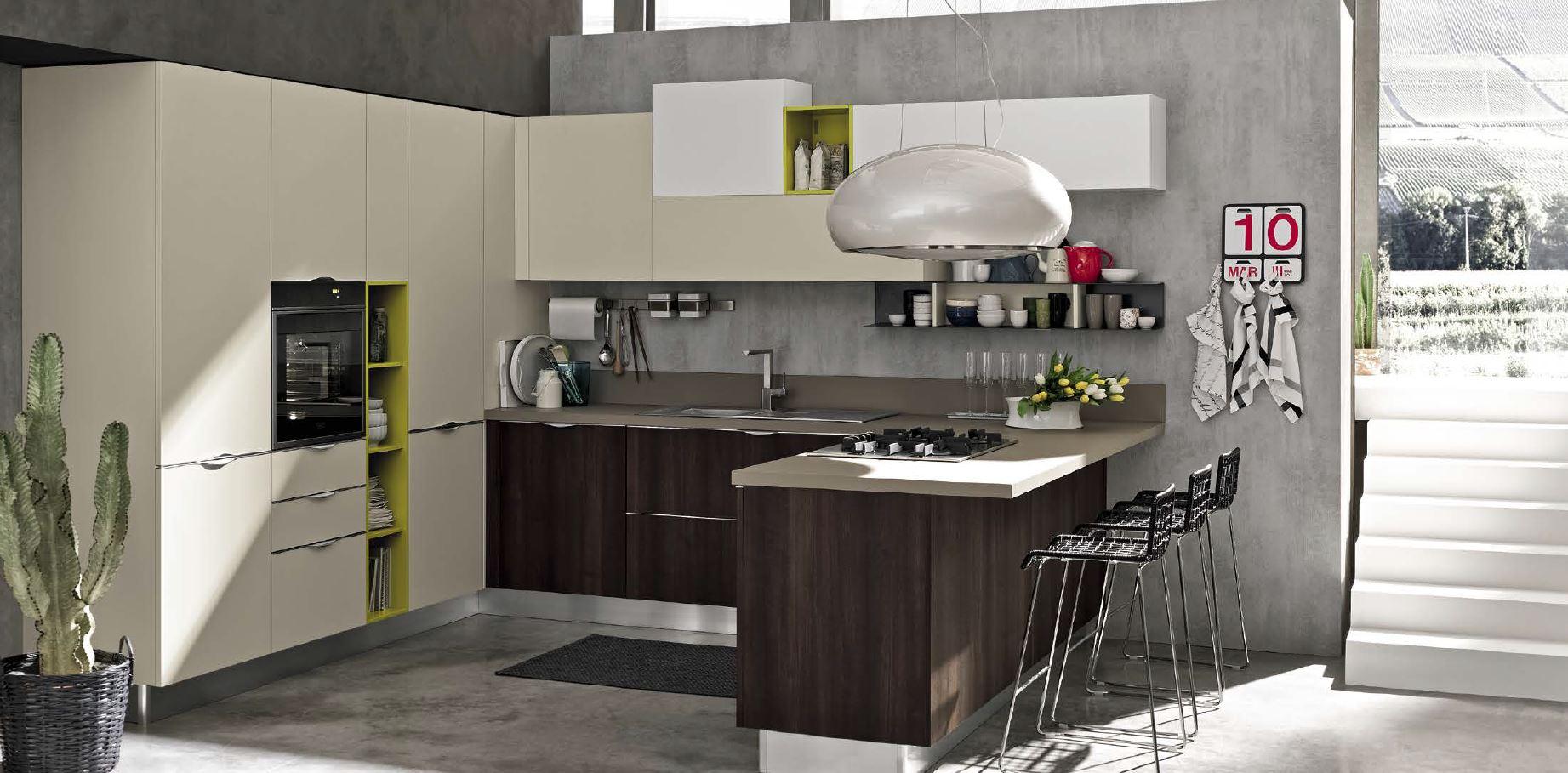 Centro cucine moderne arrex miton cucine moderne stosa for Arredamenti francavilla fontana