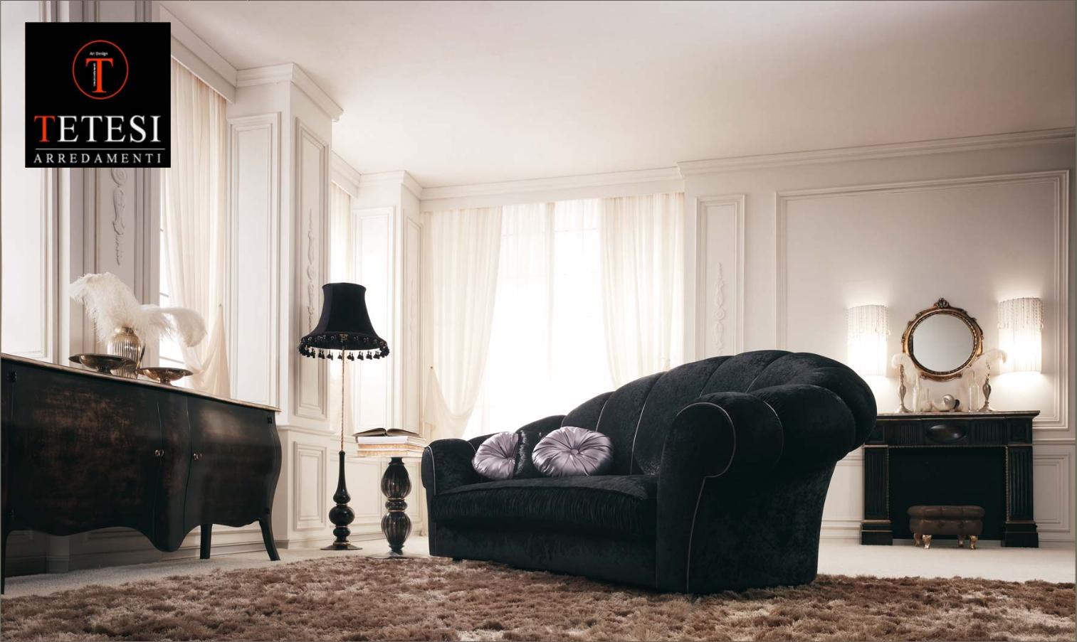 Divani Velluto Classici ~ Idee per il design della casa