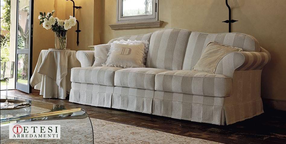 Divani poltrone e sofa in stile classico vintage retr - Copridivano stile provenzale ...