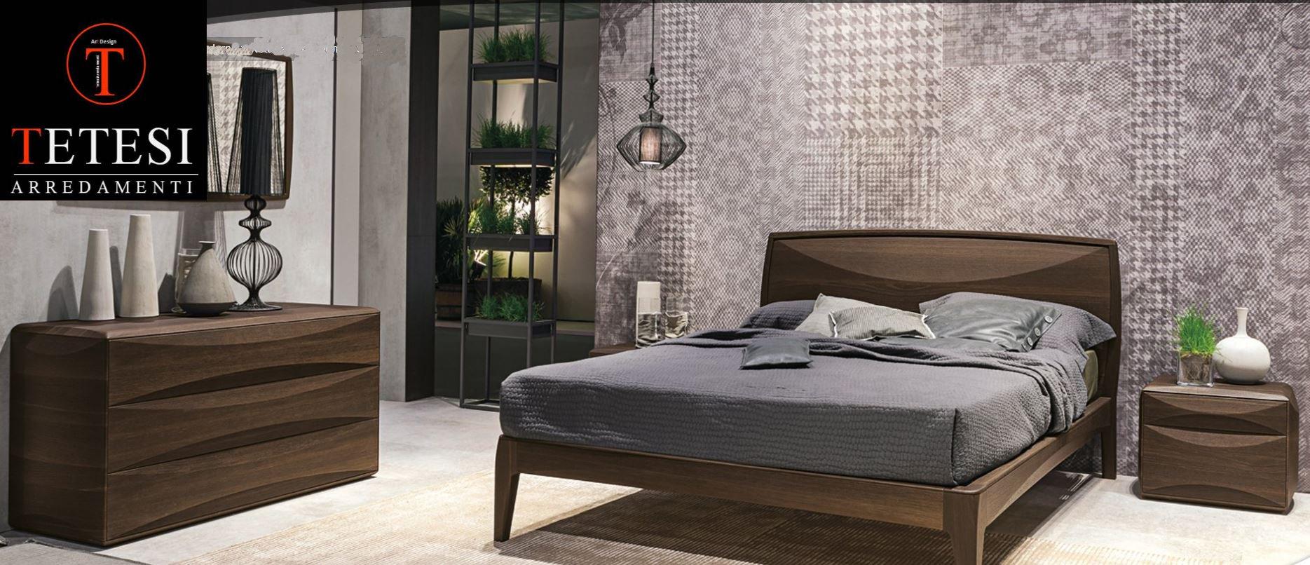 Stanza da letto moderna tetesi arredamenti - Stanza da letto moderna ...
