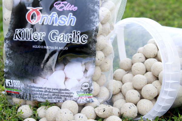 KILLER GARLIC BOILIES ONFISH ELITE