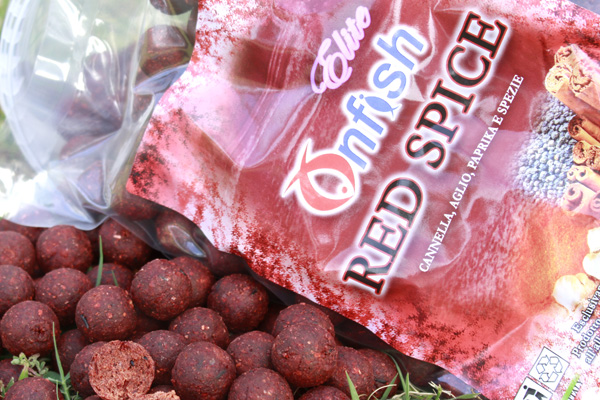 RED SPICE ONFISH BOILIES ELITE