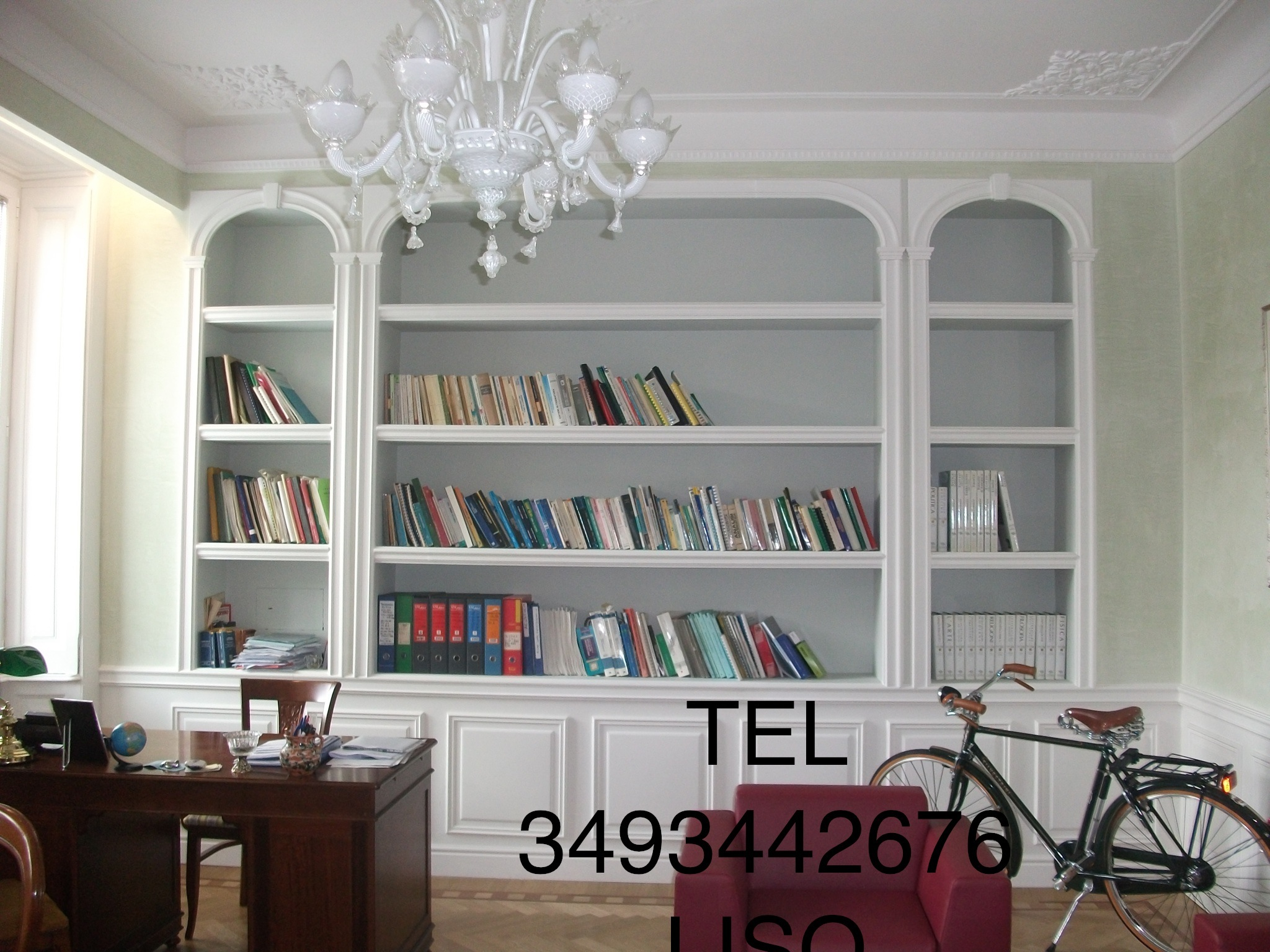 Parete attrezzata in corridoio: mobili sospesi soggiorno ikea ...