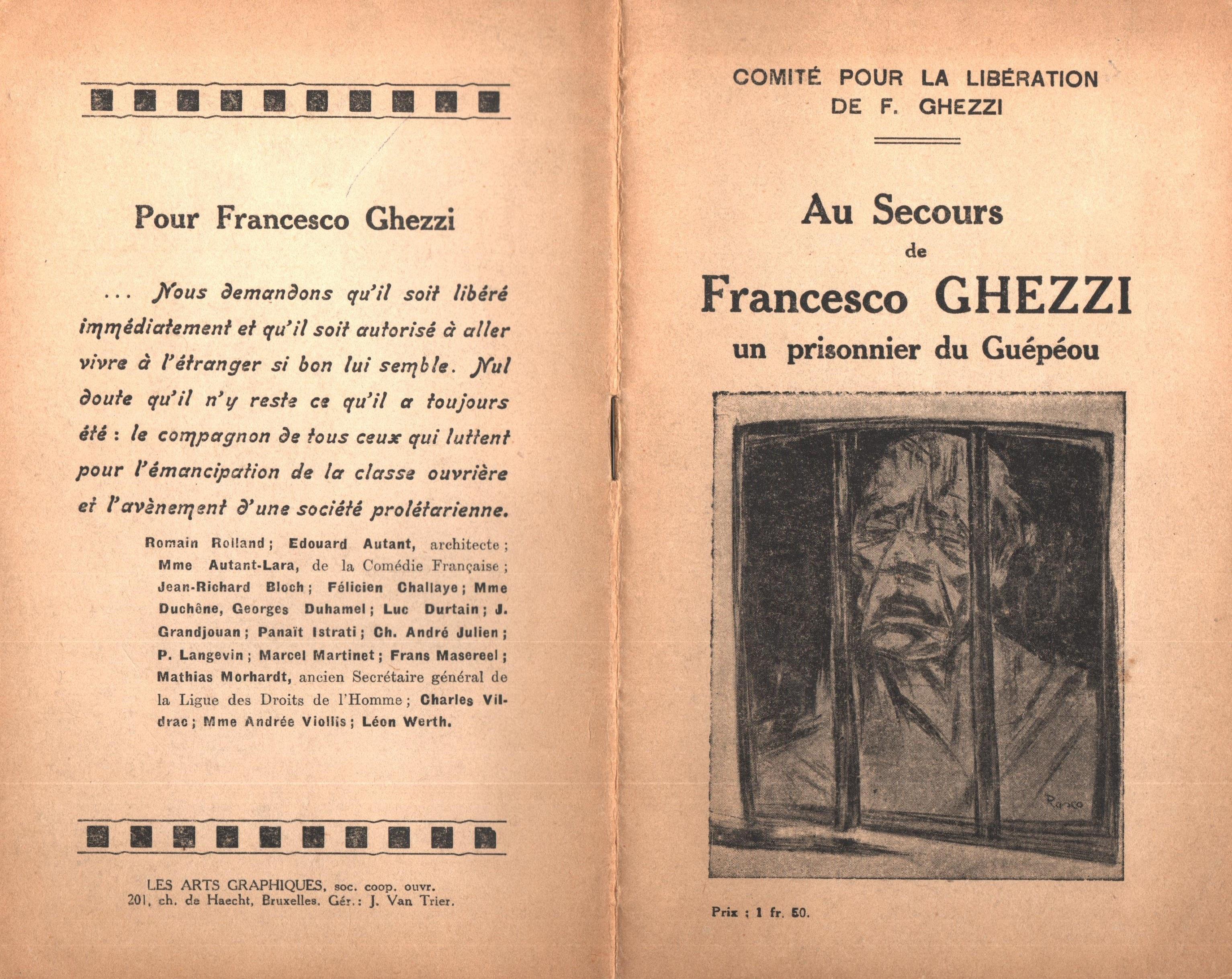 Au secours de Francesco Ghezzi - pag. 1
