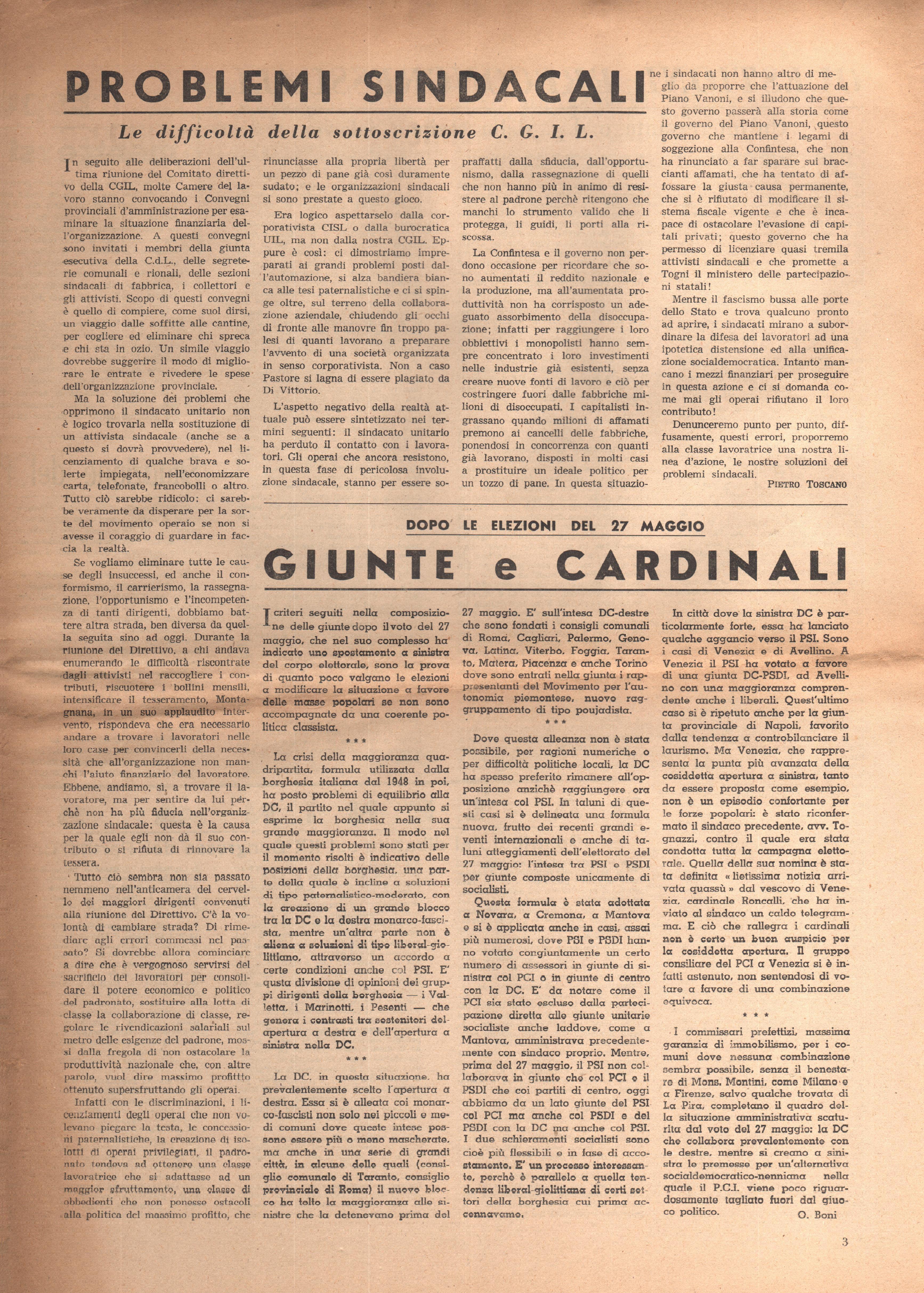 L'Azione Comunista n. 3 - pag. 3