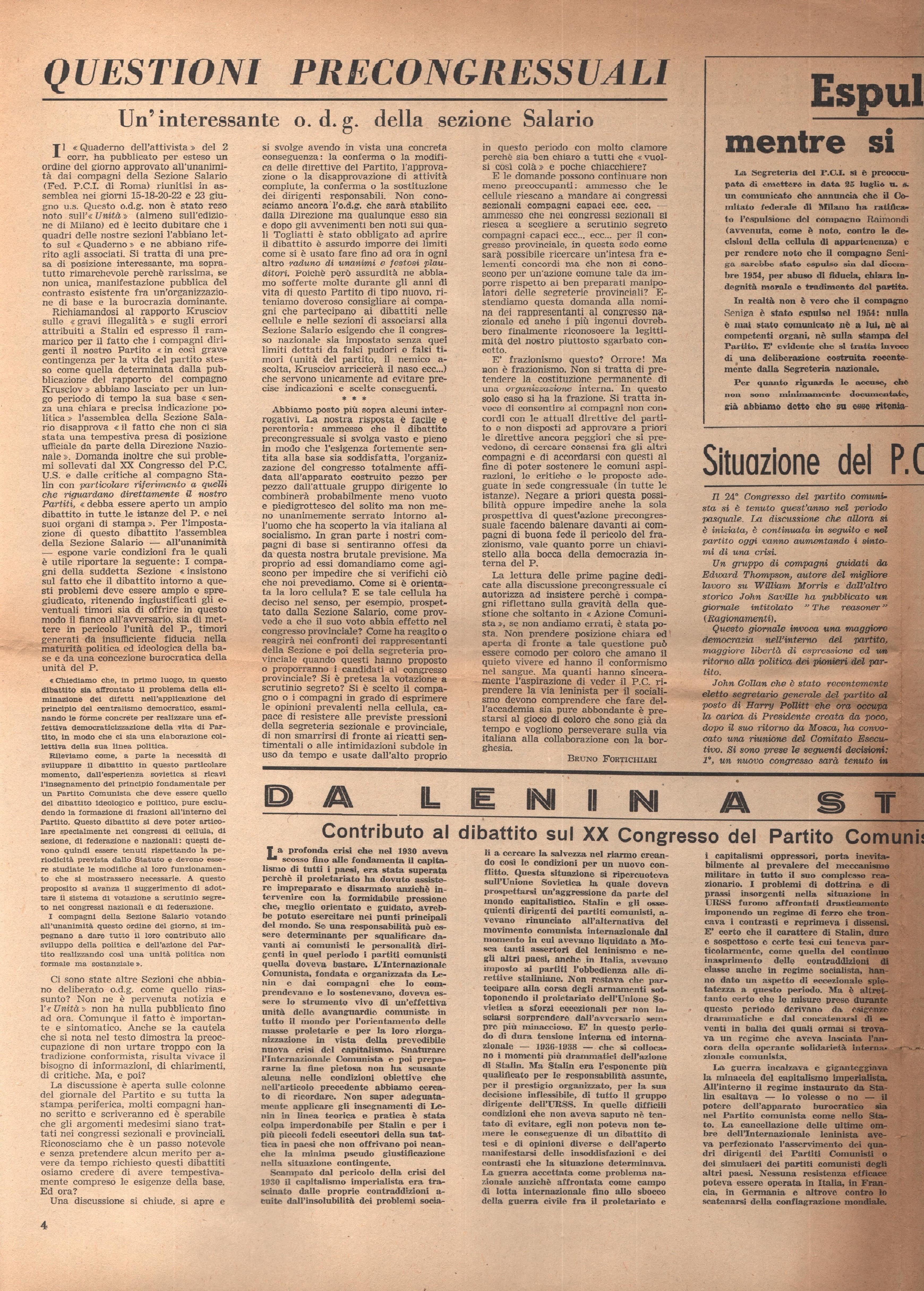 L'Azione Comunista n. 3 - pag. 4