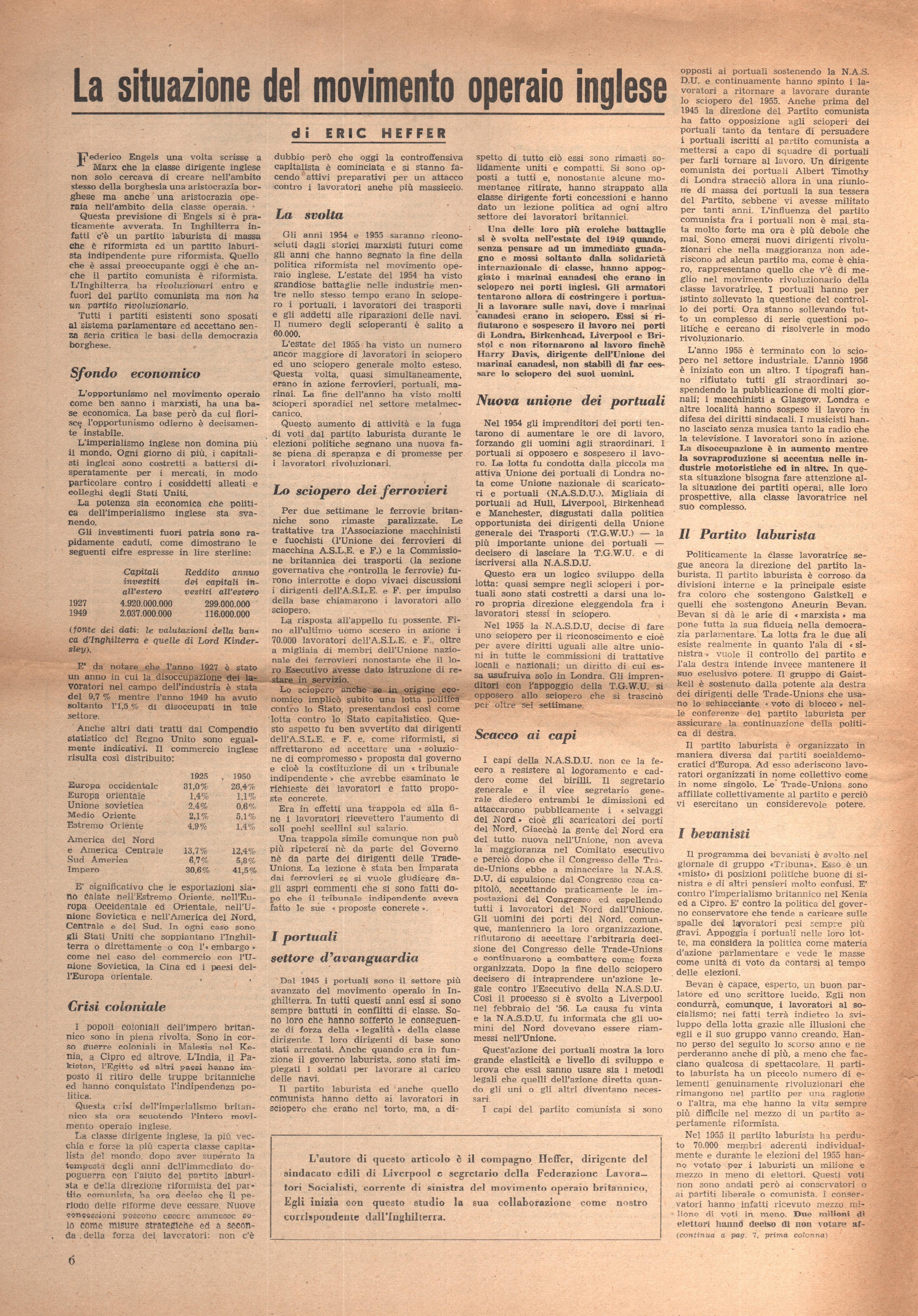 L'Azione Comunista n. 3 - pag. 6