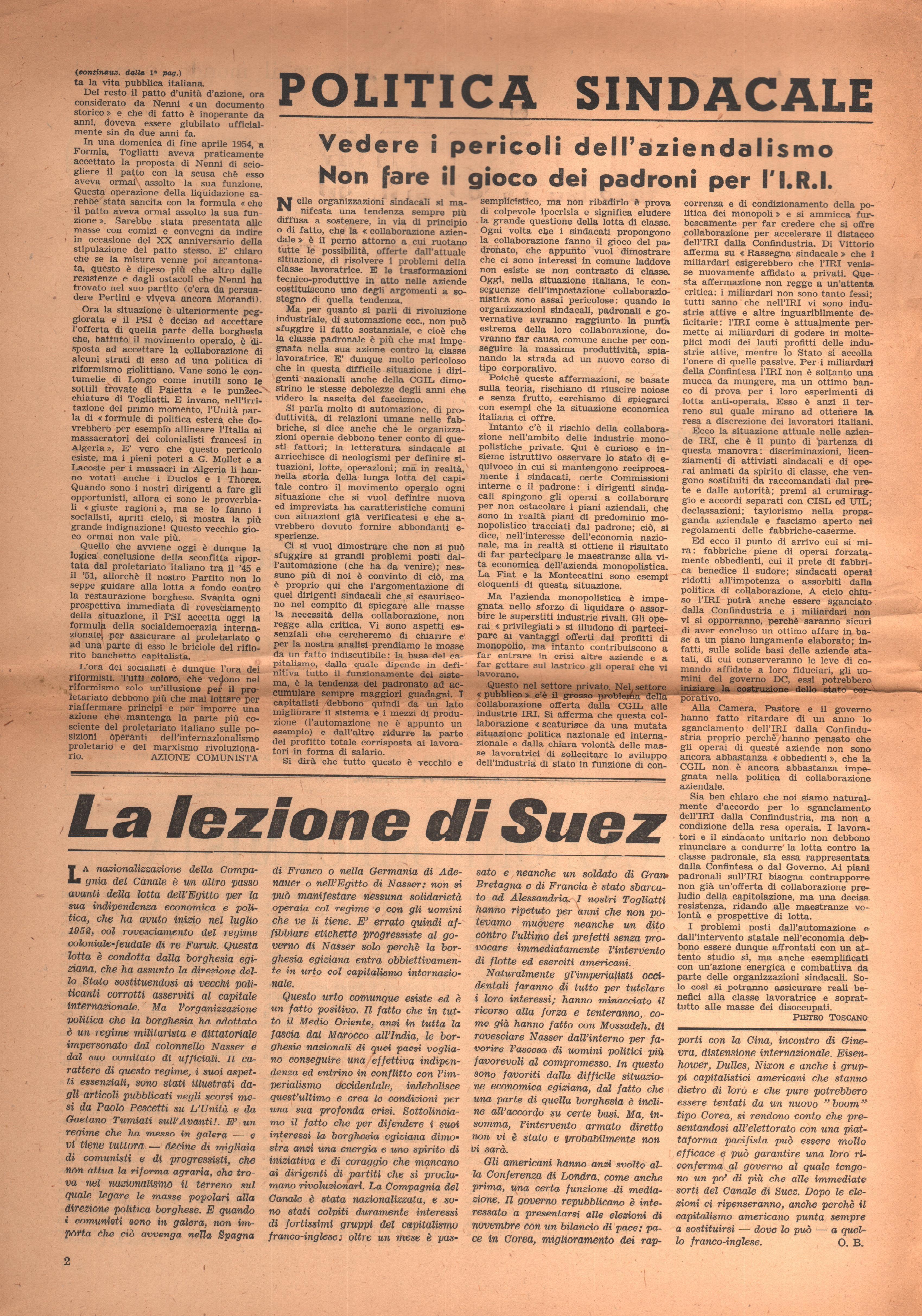 Azione Comunista 4 - pag. 2