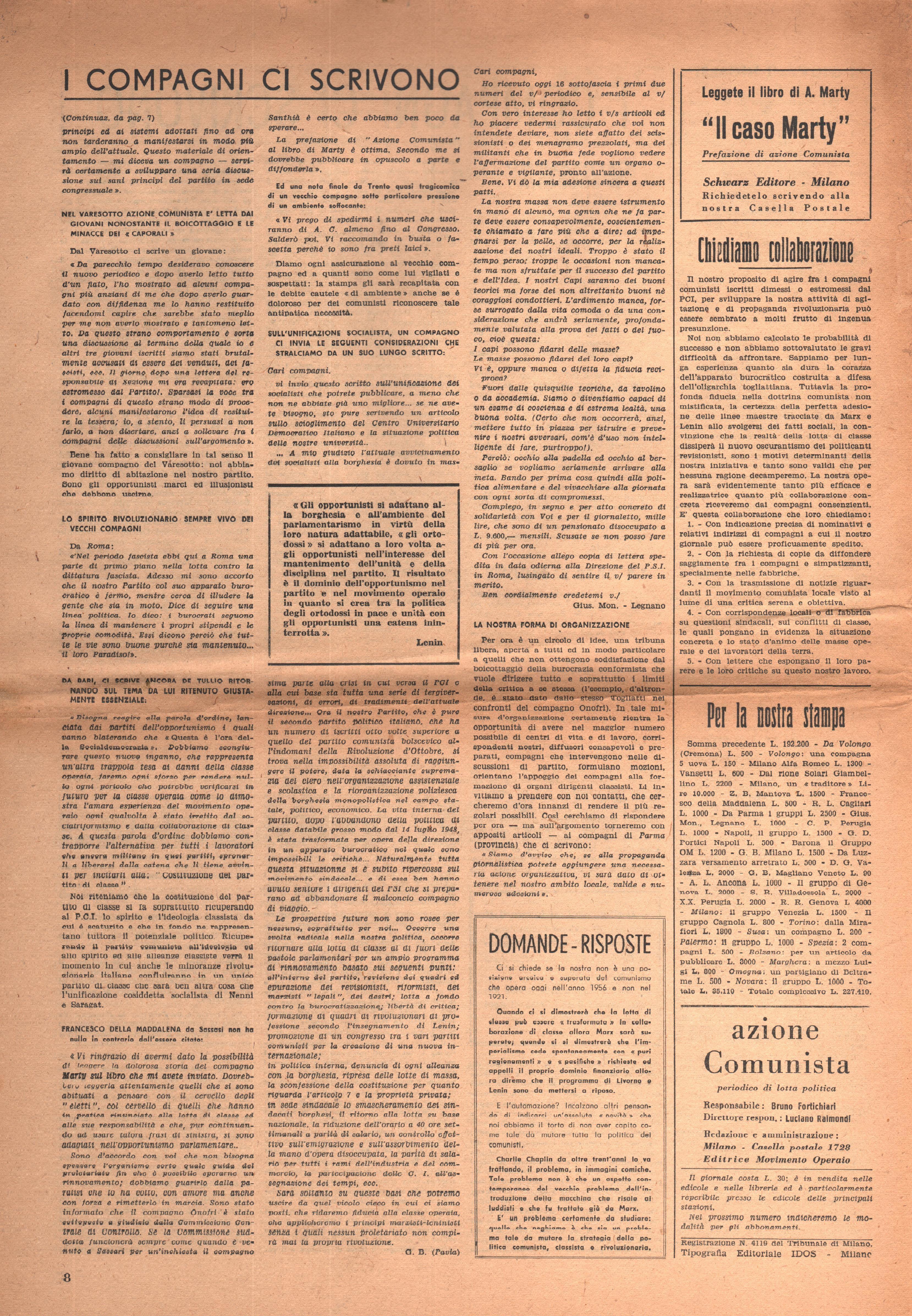 Azione Comunista 4 - pag. 8