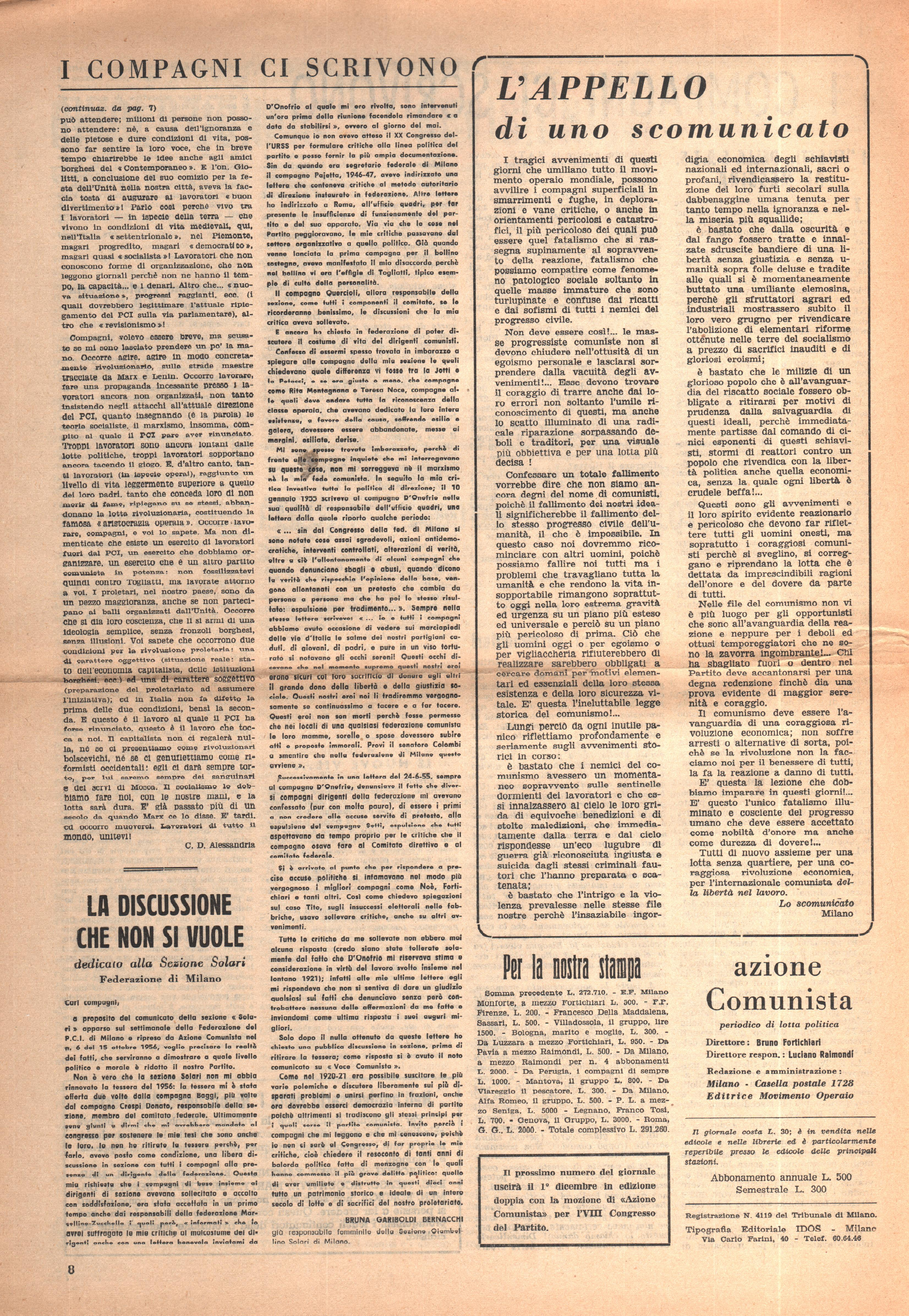 Azione Comunista n.7 - pag. 09