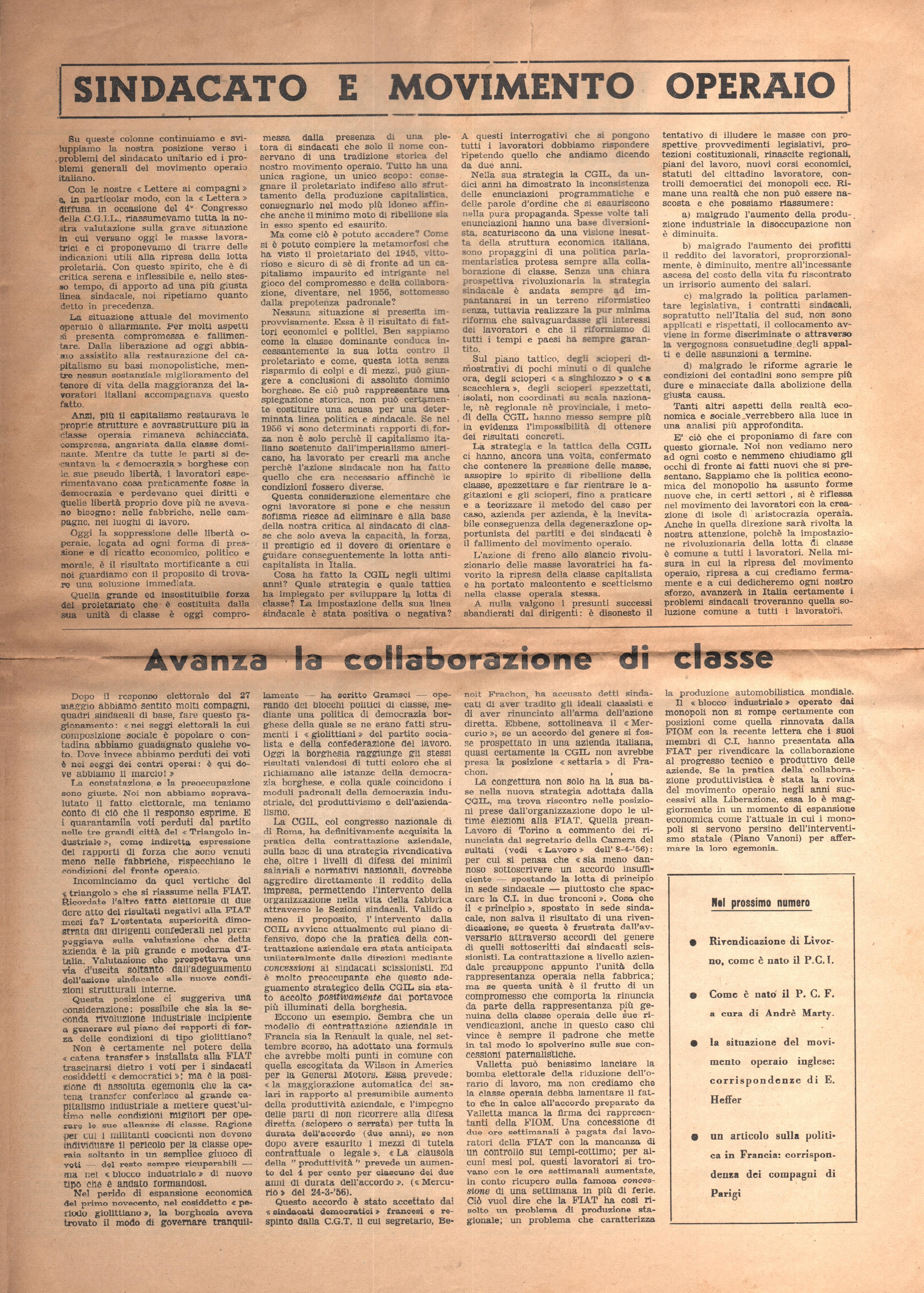 Azione Comunista n. 1 - pag. 3