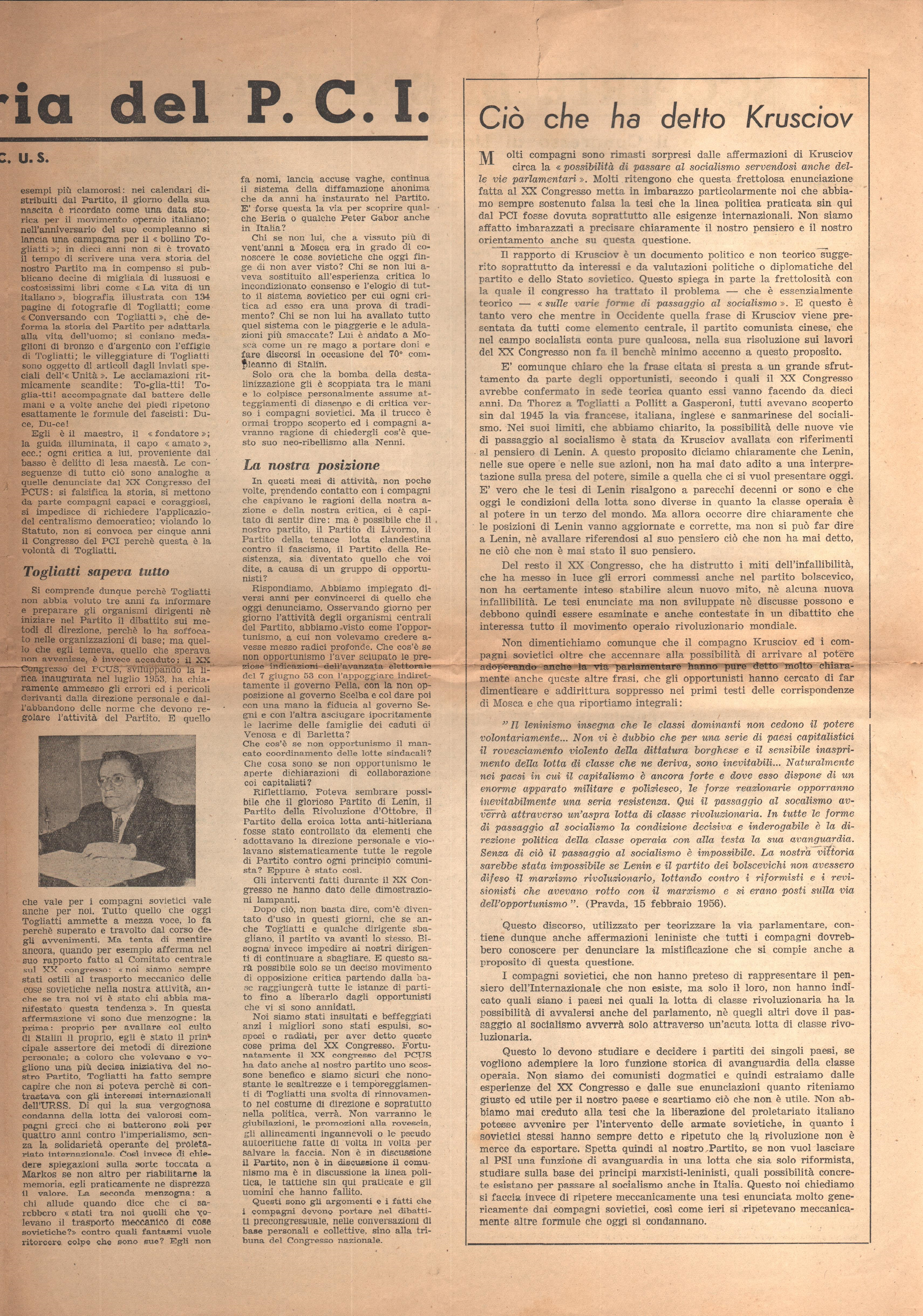 Azione Comunista n. 1 - pag. 5