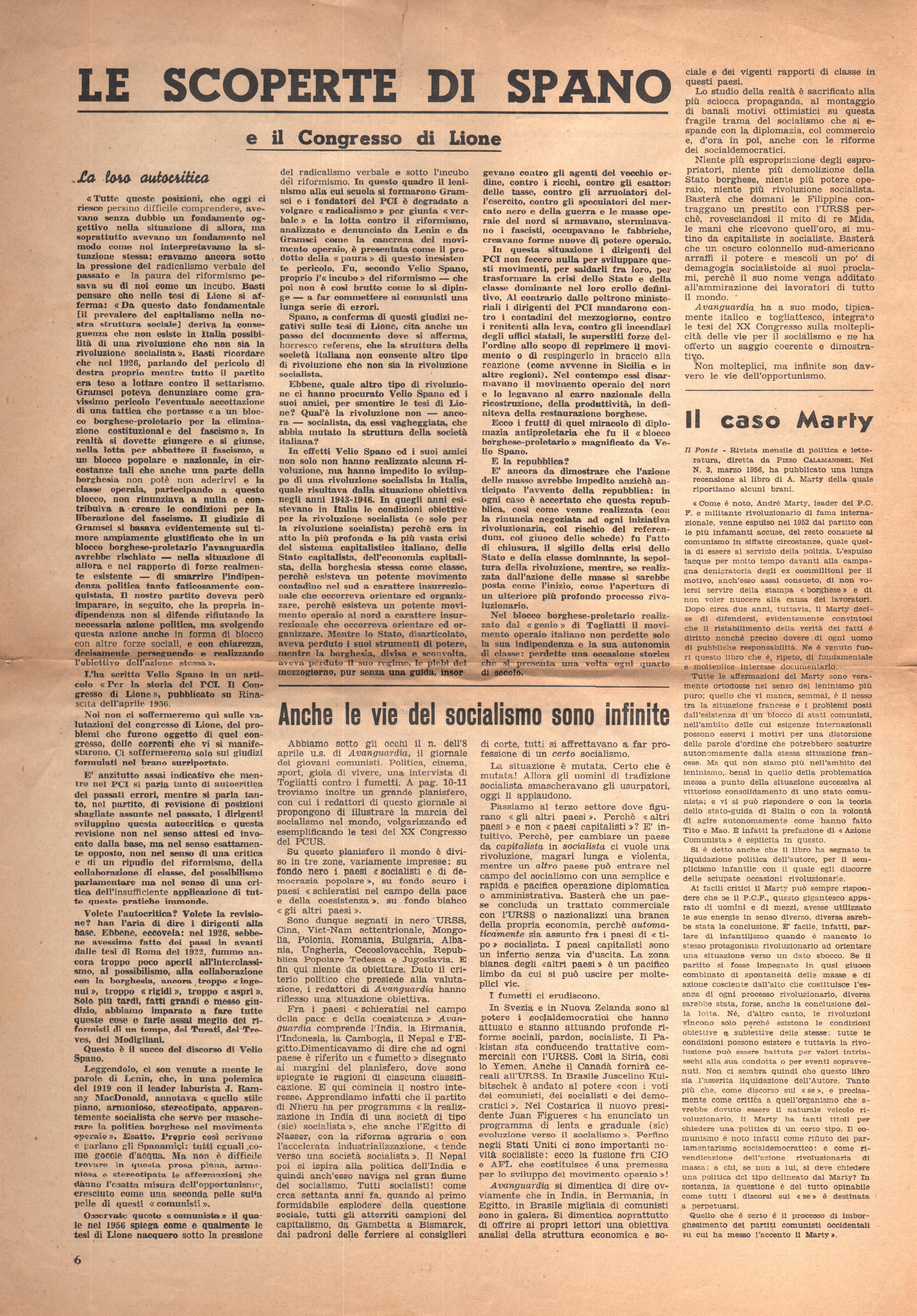 Azione Comunista n. 1 - pag. 6